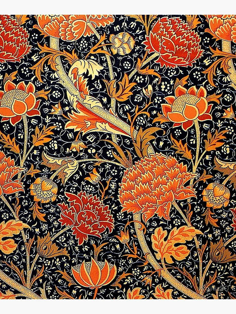 Cray, vintage pattern by William Morris by virginia50