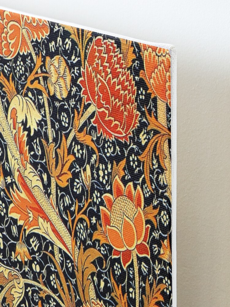 Alternate view of Cray, vintage pattern by William Morris Mounted Print