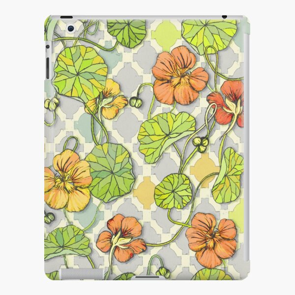 Climbing Nasturtiums in Lemon, Lime and Tangerine iPad Snap Case
