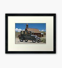 Ford Model T Antique Sedan Framed Print