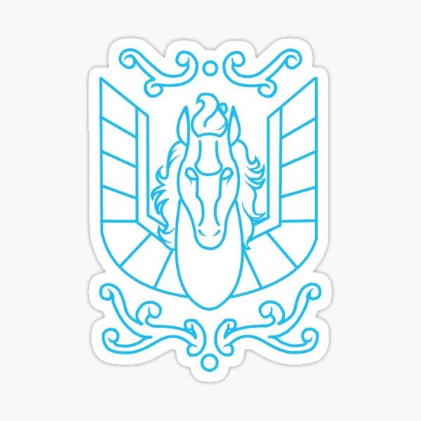 Saint Seiya - Tissu Seiya Pegasus Sticker