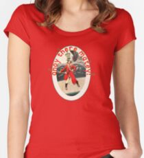Pirate Ahoy There Matey Women's Fitted Scoop T-Shirt