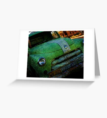 Route 66 Old Dodge Greeting Card