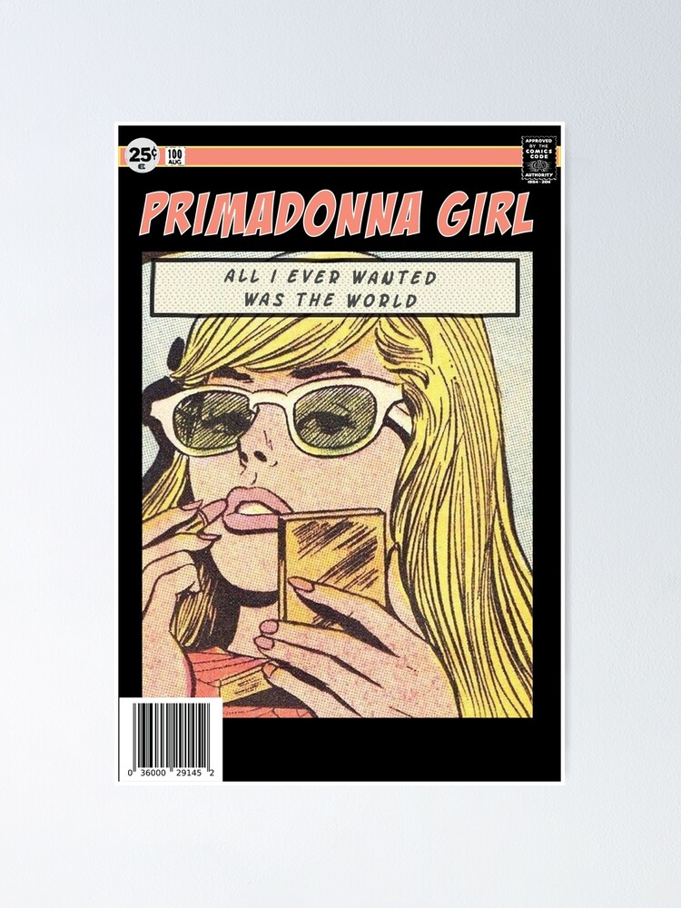 Alternate view of Primadonna Poster