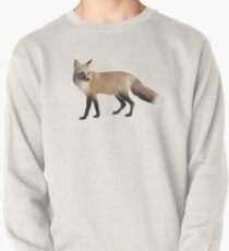 Fox on Sage Pullover Sweatshirt