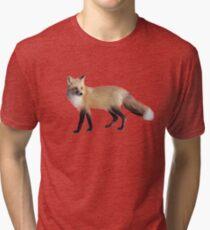 Fox on Sage Tri-blend T-Shirt