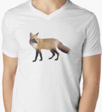 Fox on Sage V-Neck T-Shirt