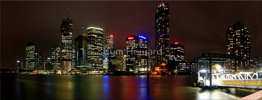 Brisbane River by Kym Howard
