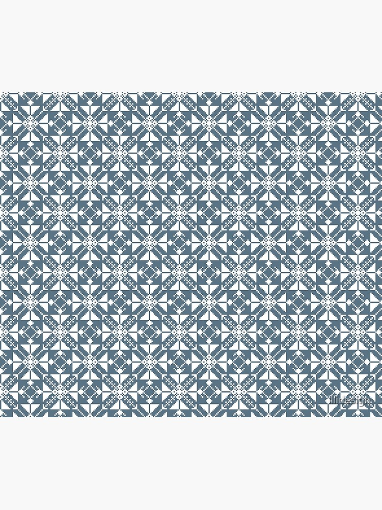 Blue folk by illidesign
