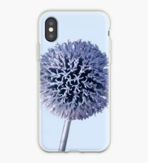 Monochrome - Starry night on the thistle globe iPhone Case