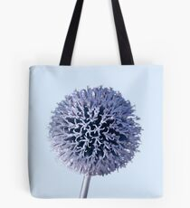 Monochrome - Starry night on the thistle globe Tote Bag
