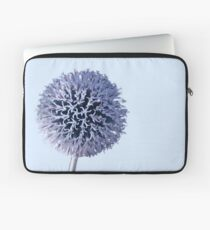 Monochrome - Starry night on the thistle globe Laptop Sleeve