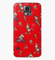 Zonkey Escape Red Case/Skin for Samsung Galaxy