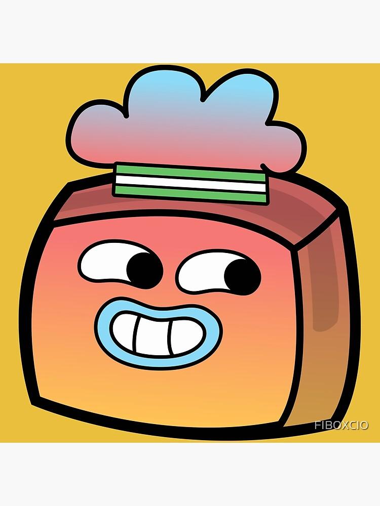 Tobias Gumball - The Amazing World of Gumball Boxheadz by FIBOXCIO