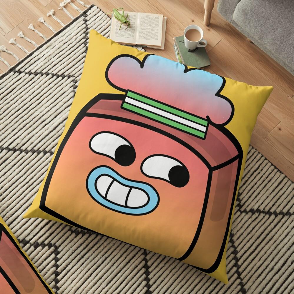Tobias Gumball - The Amazing World of Gumball Boxheadz Floor Pillow