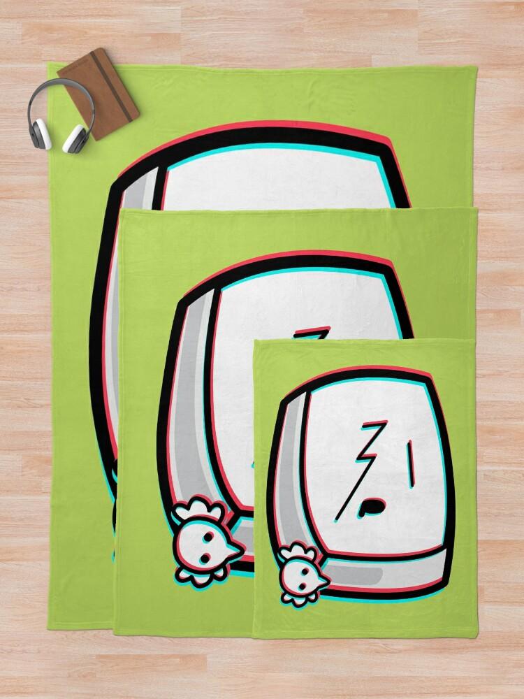 Alternate view of Carrie Krueger - The Amazing World of Gumball Boxheadz Throw Blanket