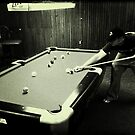 Down At The Pool Hall - 3 by Eric Scott Birdwhistell