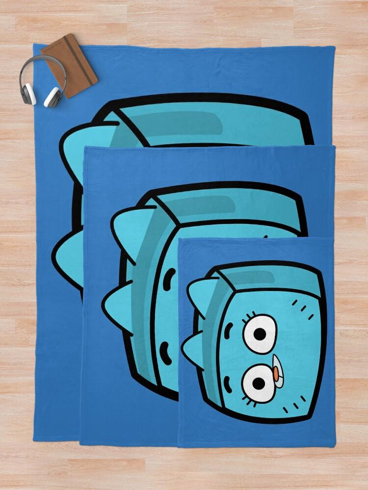 Alternate view of Nicole Watterson - The Amazing World of Gumball Boxheadz Throw Blanket