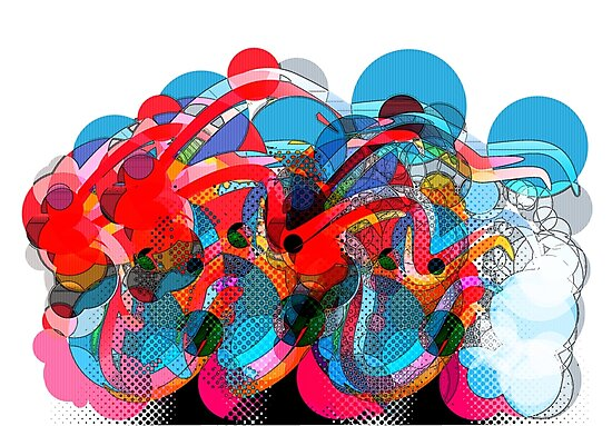 Digital Abstract (1) by george williams