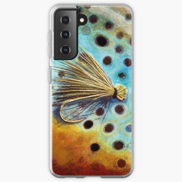 Elk Caddis Wild Brown Trout  Samsung Galaxy Soft Case