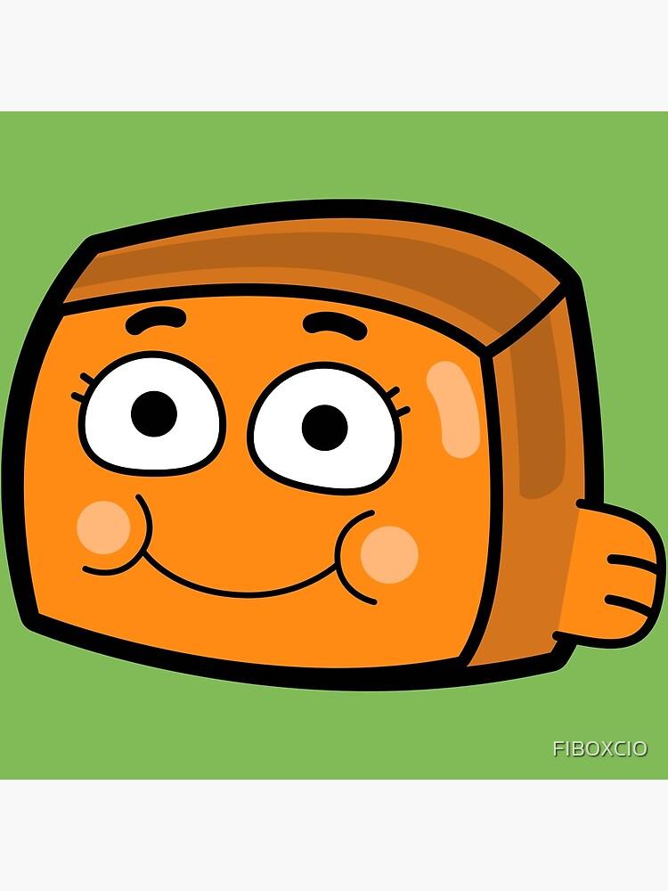 Darwin Watterson - The Amazing World of Gumball Boxheadz by FIBOXCIO
