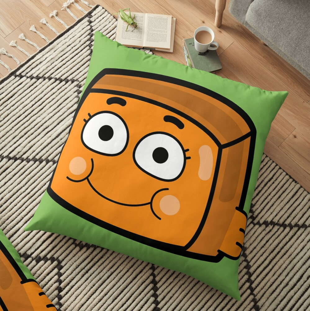 Darwin Watterson - The Amazing World of Gumball Boxheadz Floor Pillow
