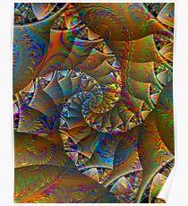 PONG 4 tweak2 -Ccrazy Autumn-abstractjoys + Parameter Poster