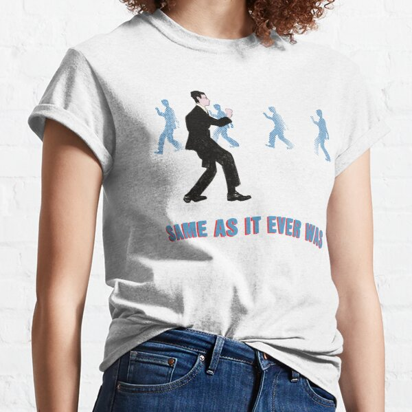 Talking Heads - Once In A Lifetime Walk Classic T-Shirt
