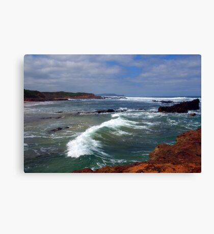 Rough seas  Canvas Print