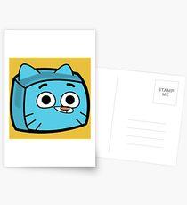 Gumball Watterson - The Amazing World of Gumball Boxheadz Postcards