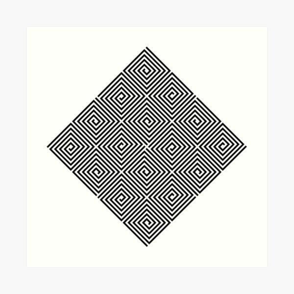 Puzzling World Art Print