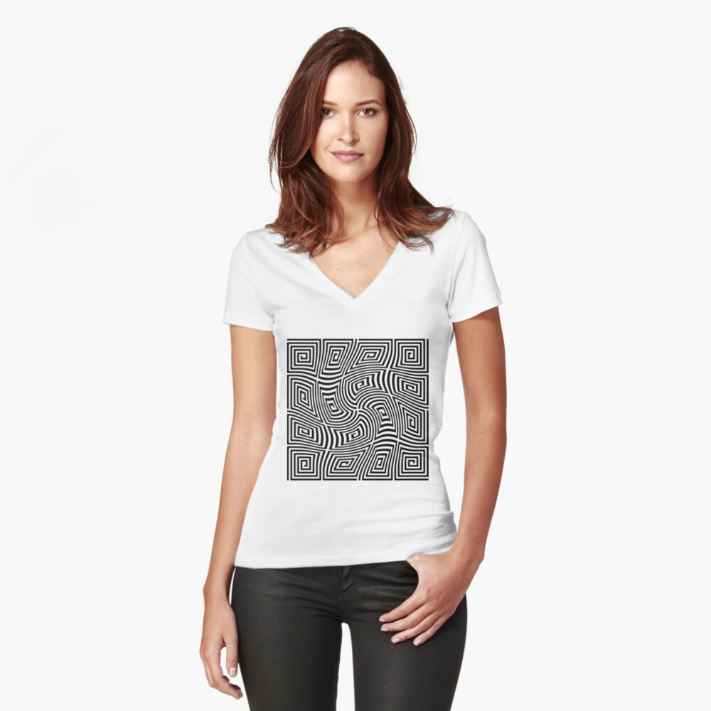 Optical Illusions,  ra,fitted_v_neck,x1950,fafafa:ca443f4786,front-c,150,133,1000,1000-bg,f8f8f8