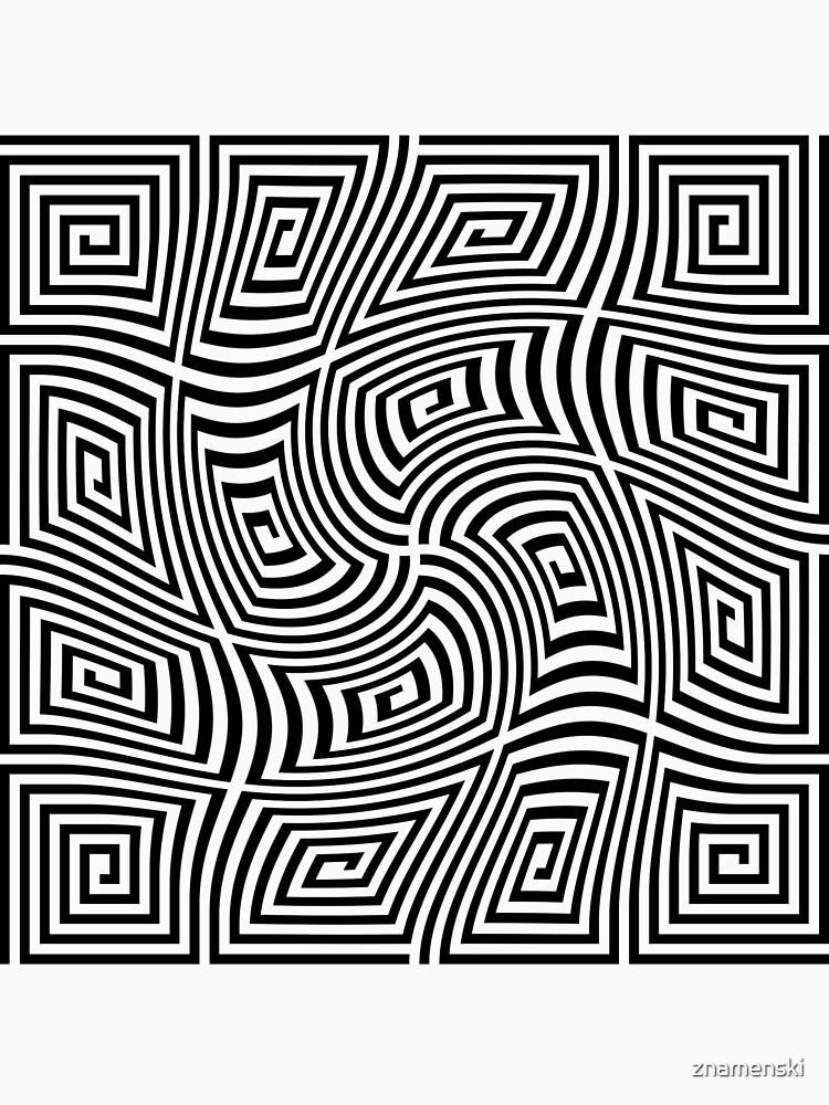 #Optical #illusions, #Visual illusion, Optical #Art by znamenski