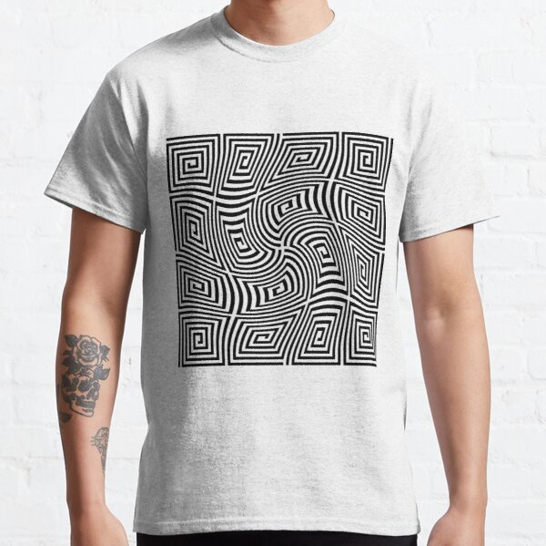 #Optical #illusions, #Visual illusion, Optical #Art Classic T-Shirt