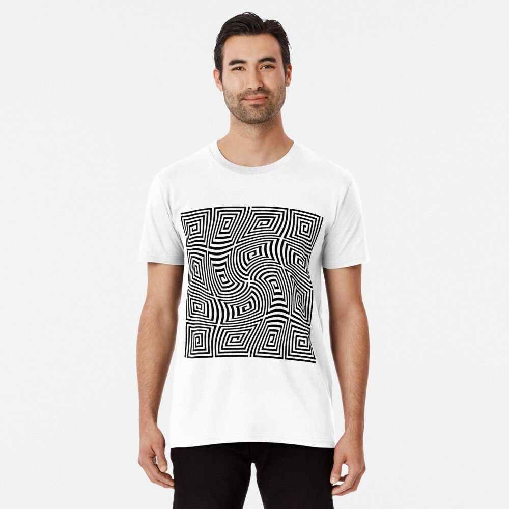 Optical Illusions,  ssrco,mens_premium_t_shirt,mens,fafafa:ca443f4786,front,square_three_quarter,x1000-bg,f8f8f8