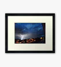 Joined Forces Framed Print