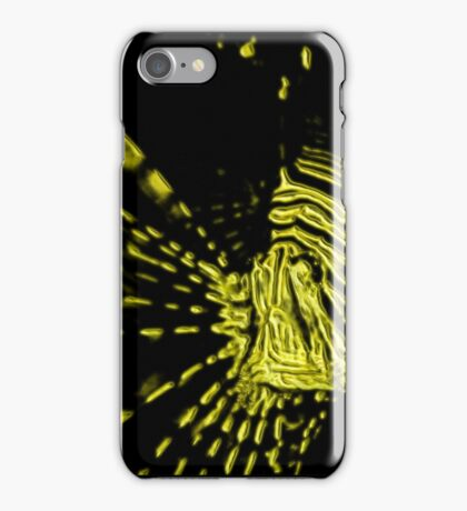 lionfish paint splatter iPhone Case/Skin
