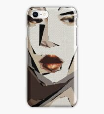 Female Expressions XLII iPhone Case/Skin
