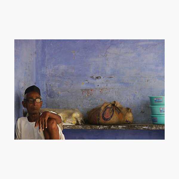 a still life of contemplation Photographic Print