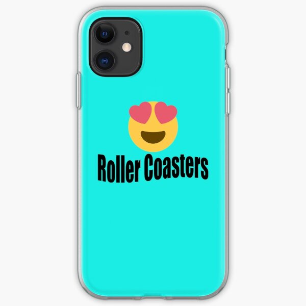 I love roller coasters iPhone Soft Case