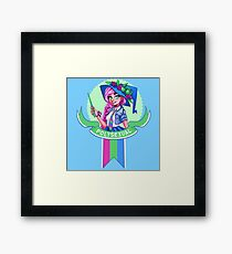 I was sorted into the Polysexual House Framed Print