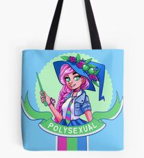 I was sorted into the Polysexual House Tote Bag