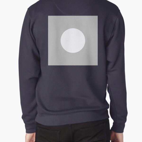 Circle, 2D Shape Pullover Sweatshirt