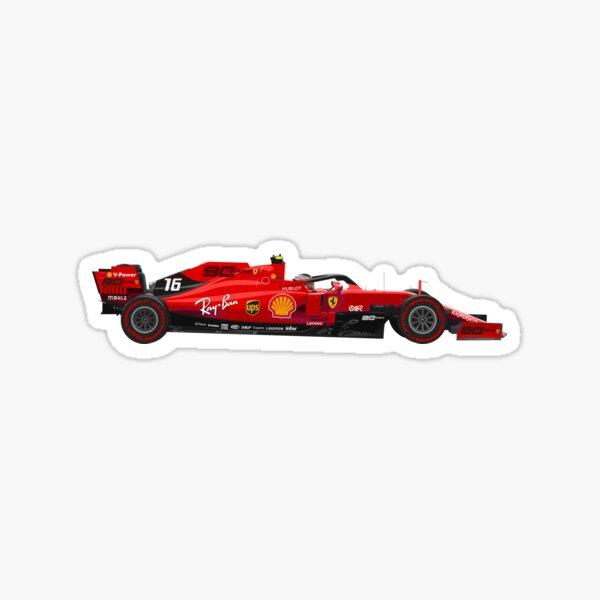 Formula 1 Charles Leclerc SF90 Sticker