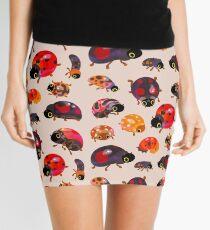 Lady beetles Mini Skirt