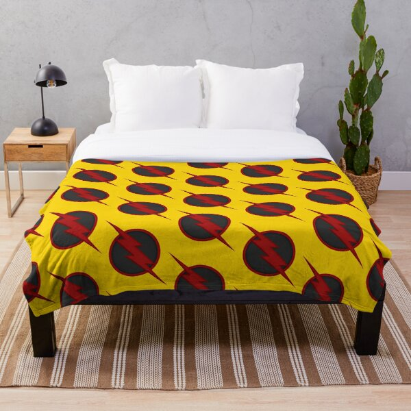 Yellow Zoom Throw Blanket