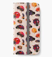 Lady beetles iPhone Wallet/Case/Skin