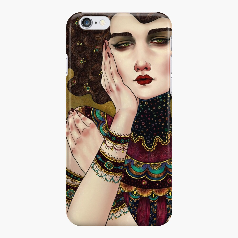 Klimt Muses 5 iPhone Case & Cover