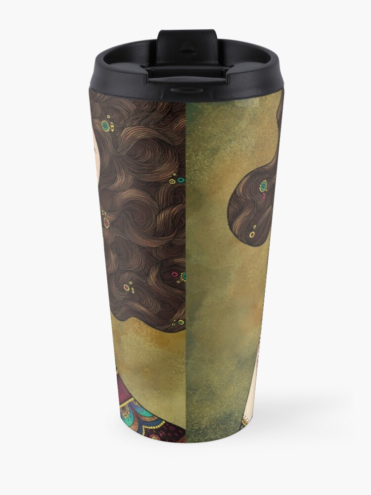 Alternate view of Klimt Muses 5 Travel Mug