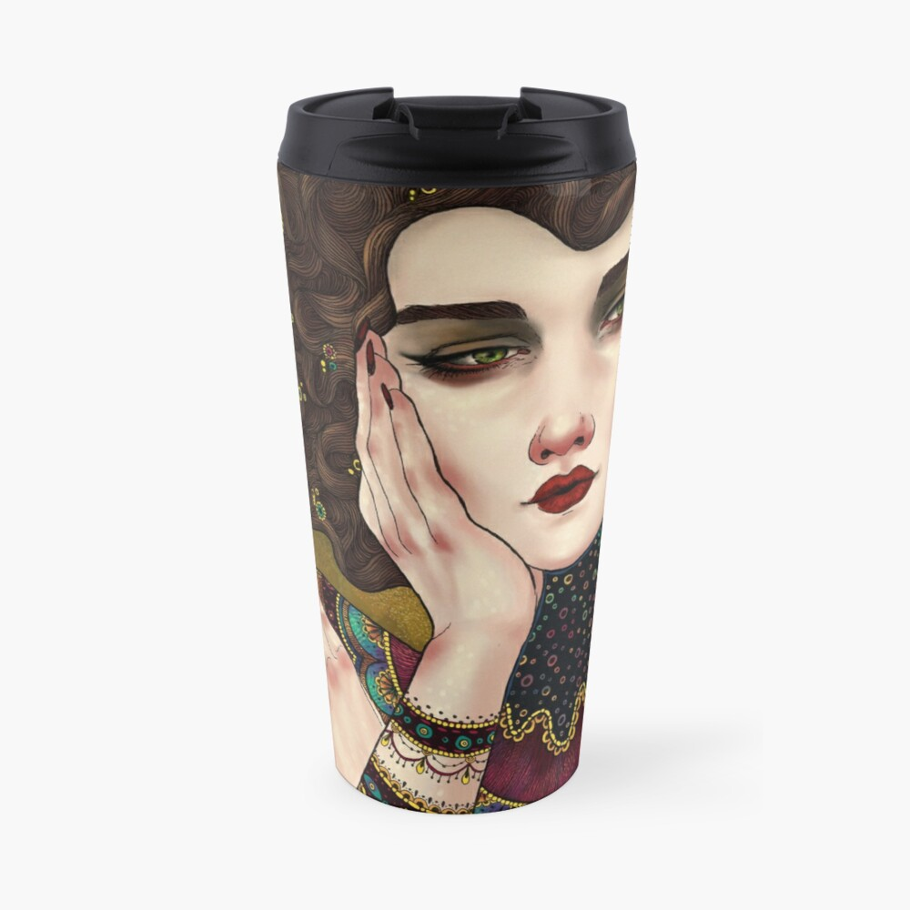 Klimt Muses 5 Travel Mug